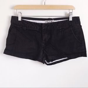 Volcom Black Chino Shorts Sz 7